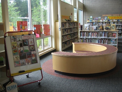 Carson Elementary School library