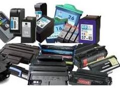 Collection of used ink cartridges